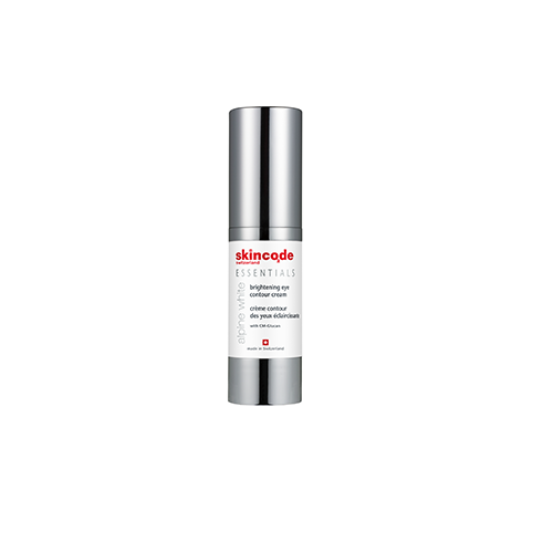 Brightening eye contour cream